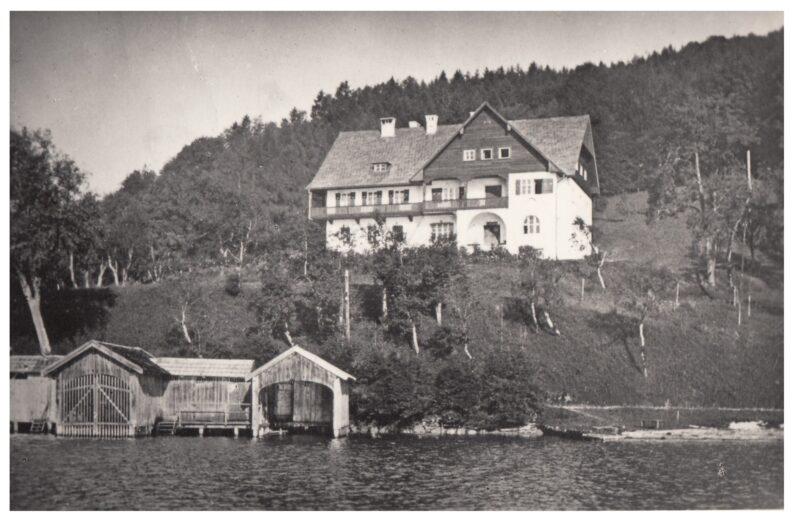 Foto Villa Orleans, vermutlich 1950er Jahre © Sammlung Kastinger