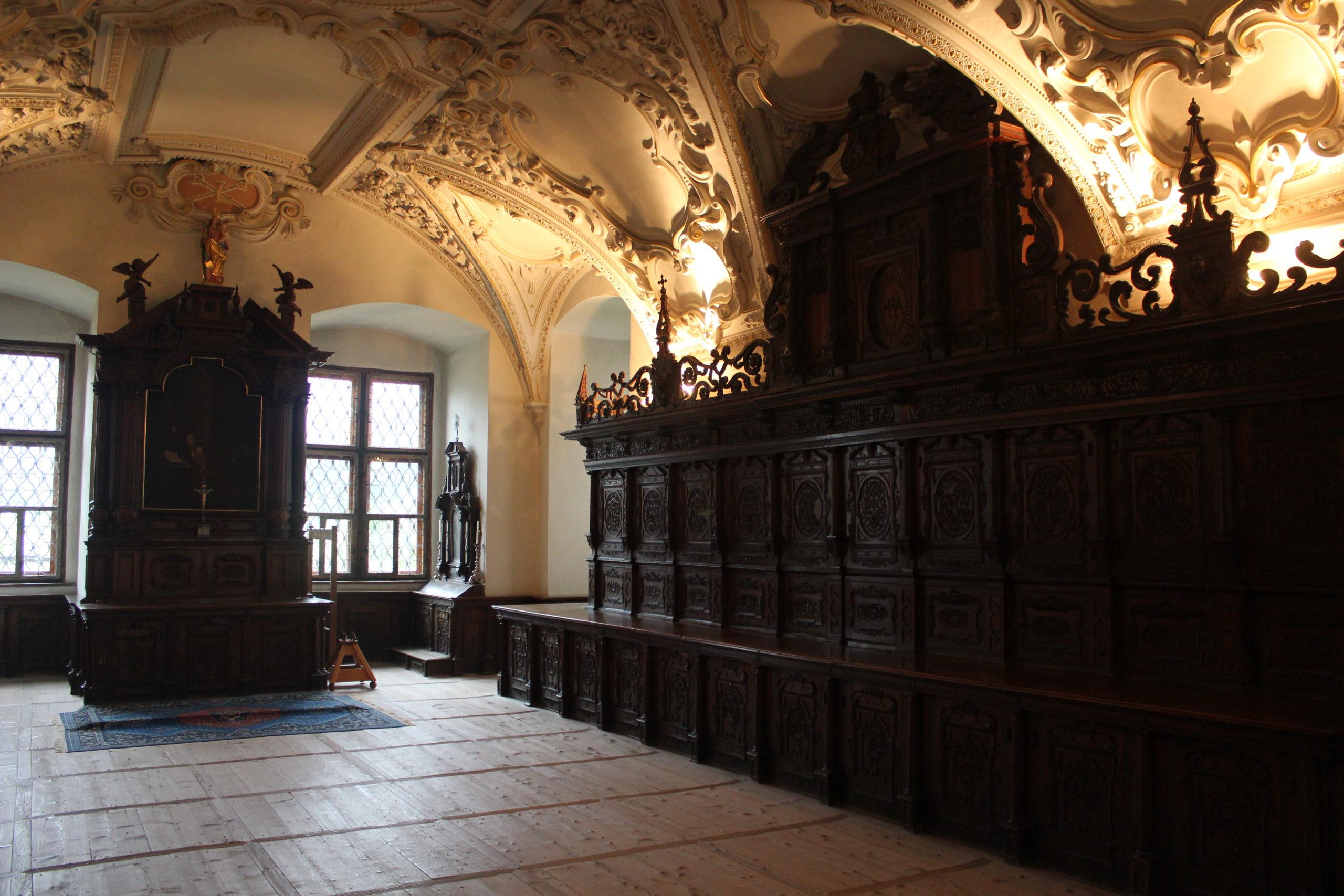 Sakristei der Stiftskirche  ©Autorin