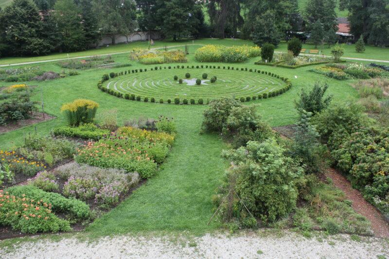 Vorbild des Labyrinths ist Chartres  ©Autorin