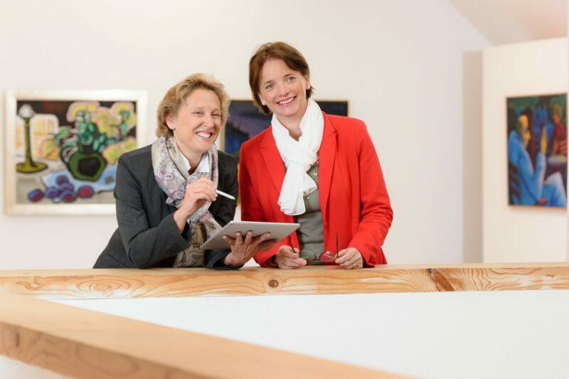 Gisela Meran & Christiane Benger ©Florien Mori