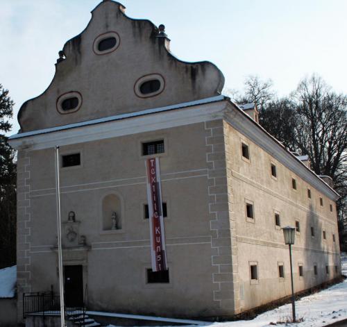 Schüttkassten Schloss Primmersdorf, Foto Autorin