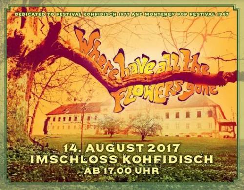 Plakat Hippiefest Schloss Kohfidisch